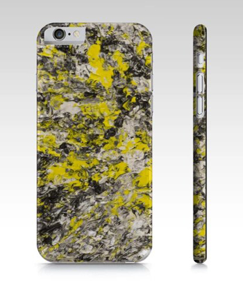 Thinking of Yellow Phone Case For iPhone And Galaxy
