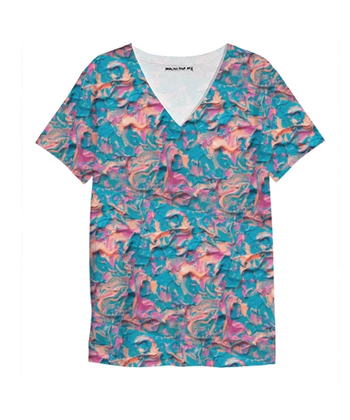 A Pink Imagination V Neck