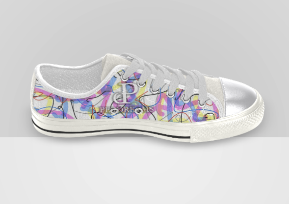 Perdreams Shoes White